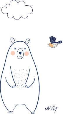 decoracion oso