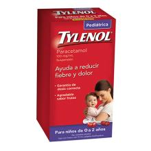 Tylenol Suspensión Pediátrica