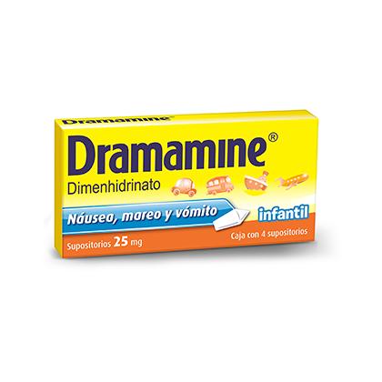 Dramamine Supositorios Infantiles