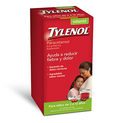 Tylenol Suspensión Infantil