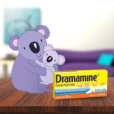 DRAMAMINE® Supositorios Infantiles