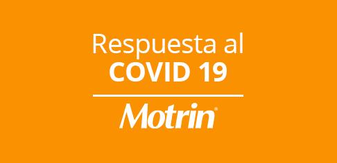 Respuesta al COVID 19 Motrín