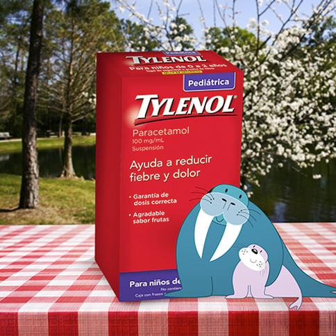 TYLENOL® Suspensión Pediátrica